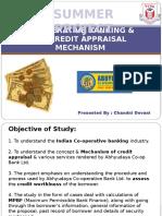 Chandni Devani Co-operative Banking Its Credit Appraisal Mechanism