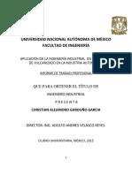 Proyecto de Titulacion Ingenieria Industrial