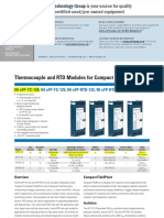 Thermocouple and RTD Modules for Compact FieldPoint