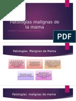 Enfermedades Benignas y Malignas de Mama