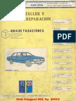 Peugeot 505-284-Manual Taller Peugeot 505 Guia Tasaciones
