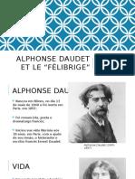 Alphonse Daudet Et Le Félibrige