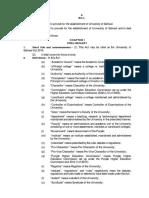 University of Sahiwal Bill 2015.Docx