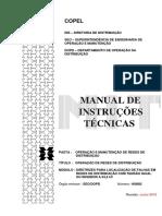 COPEL - MIT 160802v06 - DIRETRIZES PARA LOCALIZAÇÃO DE FALHAS EM REDES DE DISTRIBUIÇÃO COM TENSÃO IGUAL OU INFERIOR A 34,5 kV.pdf