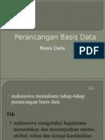 Bab 6 - Perancangan Basis Data