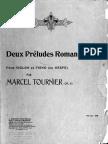Tournier Deux Preludes Romantiques