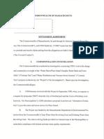 Plum Island Water & Sewer $5.5 M Settlement Agreement