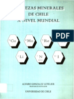 Riquezas Minerales de Chile a Nivel Mundial