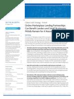 Marketplace Lending Partnerships