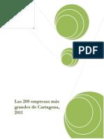 2012083036 Inv Las 200 Empresas Mas Grandes de Cartagena, 2011