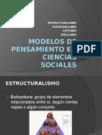 Modelos de Pensamiento en Ciencias Sociales