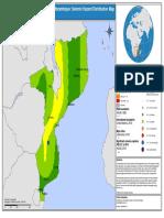 Moz-seismic Hazard Map