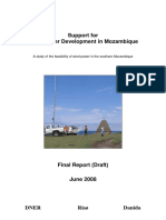 En Support for Wind Power Development in Mozambique Report DNER