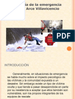 Manuel Arce - Psicologia de La Emergencia