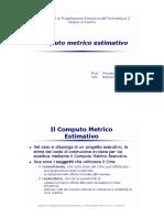 Formazione-Computo Metrico Estimativo