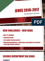 general science topics 2016 2017