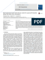 Dual-quaternion Based Fault-Tolerant Control for Spacecraft Formation Flyin