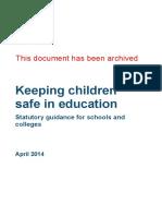 Safeguardibg Children