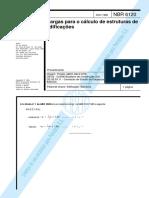 NBR 6120 - Cargas Para o Cálculo de Estruturas de Edificação1.pdf