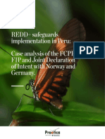 REDD+ safeguards implementation in Peru