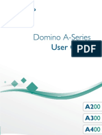 Domino A Series User Guide English