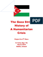 The Gaza Strip - History of a Humanitarian Crisis