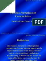 Métodos Numéricos en Geomecánica