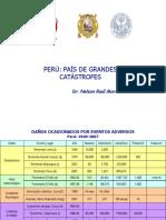 El Peru Escenario de Grandes Catastrofes