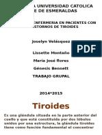 Atencion Enfermeria Con Pacientes de Tiroides