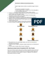 Material Reglas de Seguridad y Simbolos de Seguridad en El Laboratorio