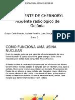 Trabalho de Fisica - Acidente de Chernobyl - 2 D