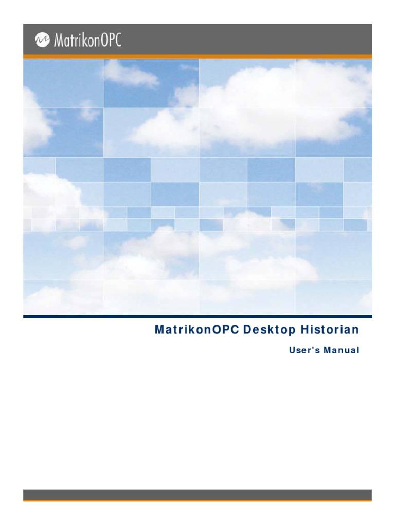 OPC Desktop Historian Manual | Backup | Tag (Metadata)