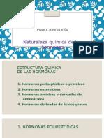 naturaleza quimica de las hormonas