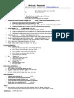 MRadomski Resume 5.31