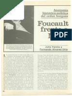 Marx y Foucualt