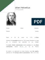 Claude Adrien Helvetius Biografia