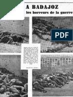 Badajoz, agosto de 1936, la alondra ensangrentada