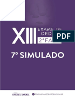 13 Simulado VII