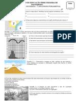 Avaliacao de Geografia Região Nordeste.doc