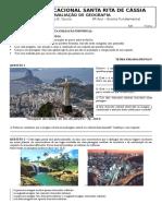 Atividades de Geografia - Categorias de Análise - Setores Da Economia