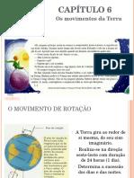 Capítulo 6 - Os Movimentos Da Terra