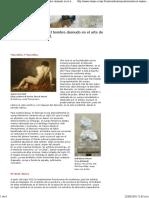 Masculino. El Hombre Desnudo en El Arte de 1800 Hasta La Actualidad