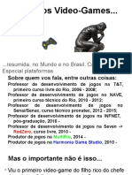 História Dos Video-Games... Resumida, No Mundo e No Brasil.
