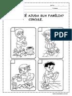 Atividades Sobre a Familia