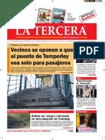 Diario La Tercera 01.09.2016