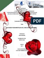 Bases Fundamentales Legales Que Tiene Que Ver Con La Educación Panameña