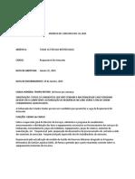 2015-01-16 Emprego Embaixada EUA Resp Armazem