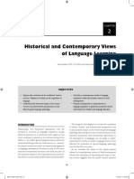 Historical and Contemporary Views of Language (1)