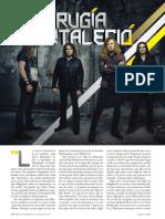 Megadeth. La Cirujia Que Fortalecio - Rolling Stone MX - Nº155