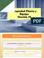 Seccion 17 Propiedad, Planta y Equipo